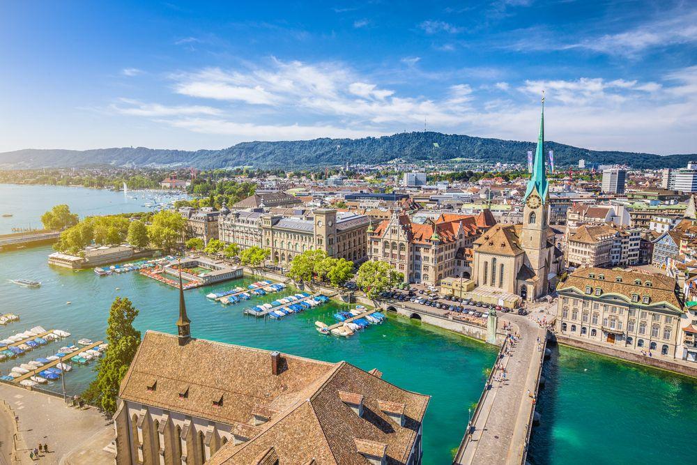 Schöne-Städte-Europa-Zürich