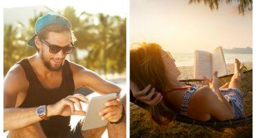 So lesen die Europäer im Urlaub