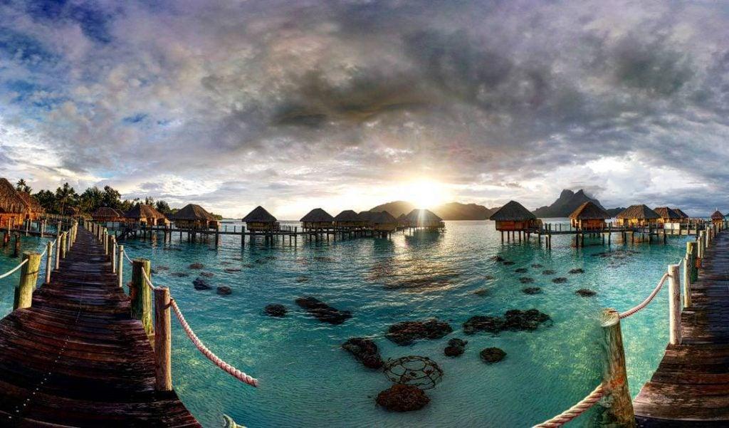 was kann man auf tahiti machen, overwater bungalow, überwasser bungalow, luxushotel tahiti