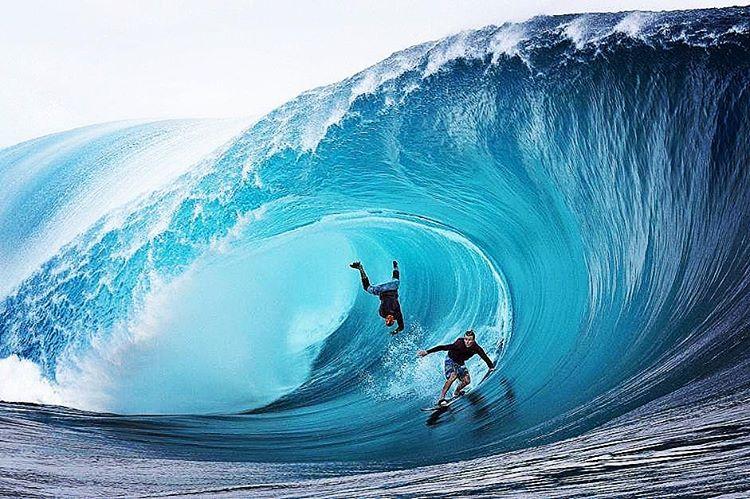 was kann man auf tahiti machen, surfen, wellen, surf
