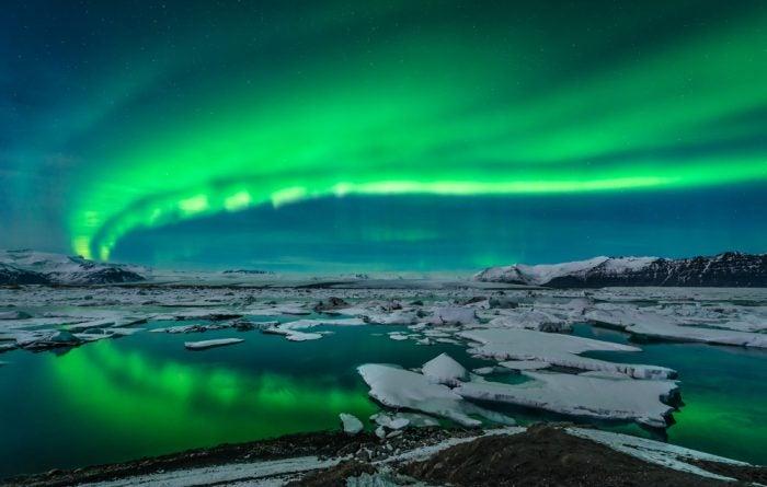 island-bilder, island, polarlichter