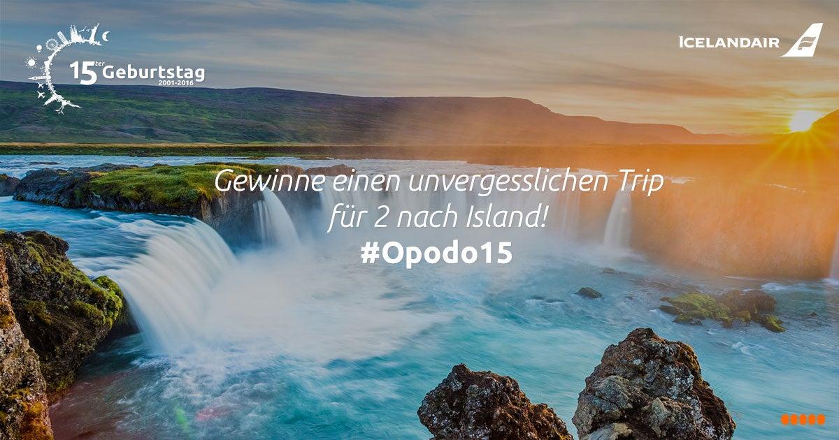 Island Gewinnspiel, Travel Pics Gewinnspiel, Opodo Gewinnspiel