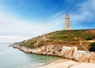reisetipps galicien, herkulesturm, torre de hercules