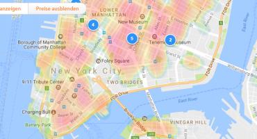 Finde deinen perfekten Urlaubsort – die neuen Heatmaps
