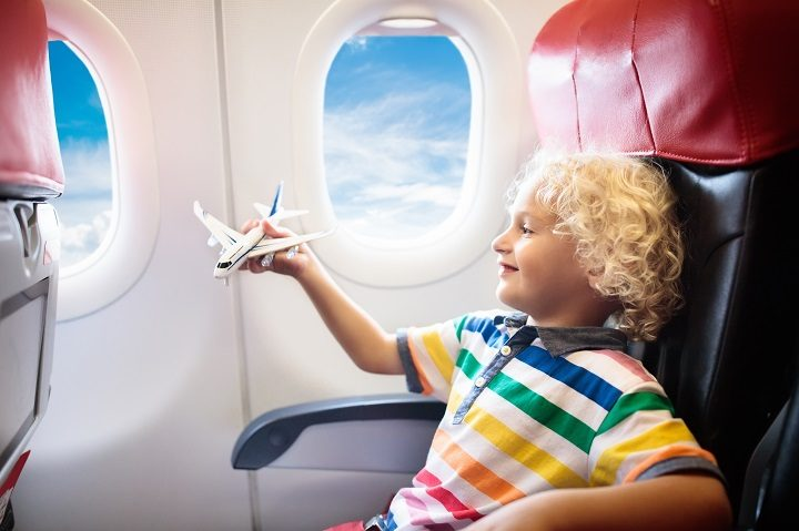 kinder alleine fliegen