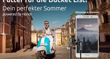 Gewinnspiel: Dein perfekter Sommer 2017 powered by Honor