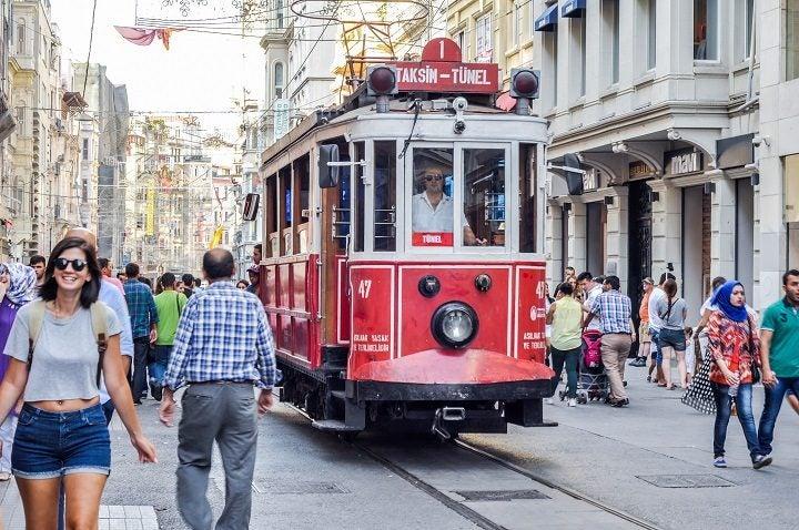 Istanbul Sehenswürdigkeiten,  Istiklal Caddesi