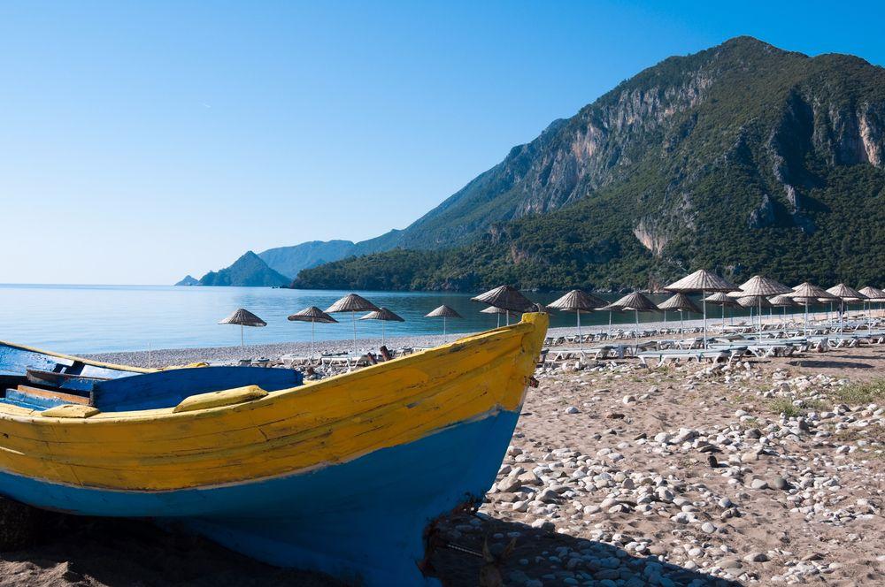 top 10 der beliebtesten urlaubsziele 2018, türkische riviera, türkei, urlaub, strand