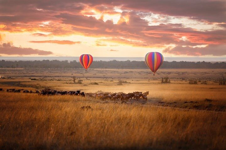 4 masai mara kenia - Sonnenuntergänge - Opodo Reiseblog