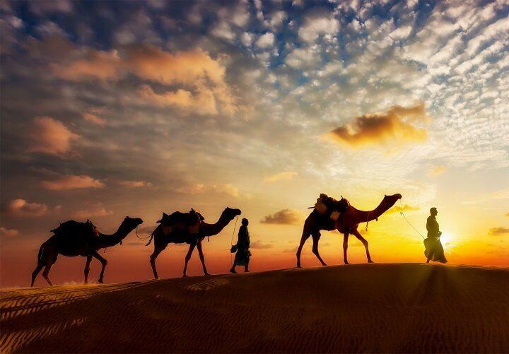 6 sahara sunset - Sonnenuntergänge - Opodo Reiseblog