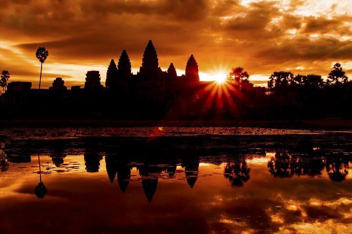 7 Angkor wat - Sonnenuntergänge _Opodo Reiseblog