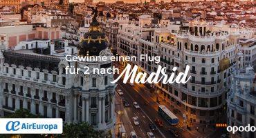 Madrid Gewinnspiel: Gewinne 2 Flüge nach Madrid