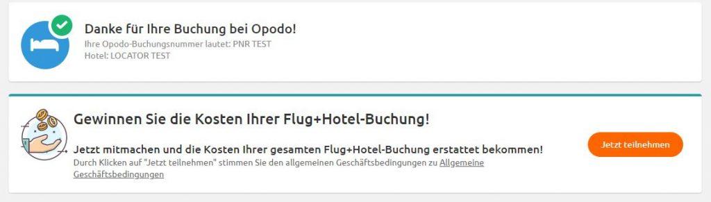 Gewinnspiel Flug + Hotel