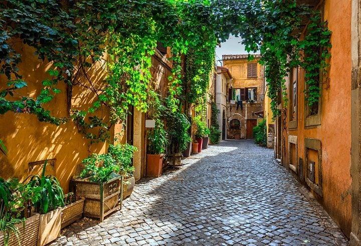 Rom an einem Wochenende
