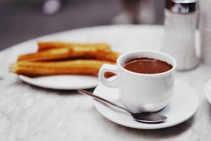 Madrid von seiner romantischen Seite, Chocolate con Churros