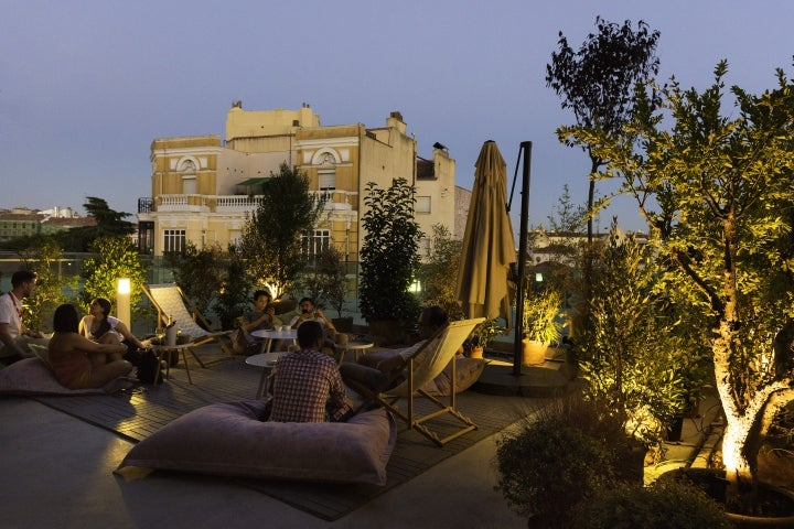 Madrid romantisch, Azotea Forus Barcelo, Rooftop Bar