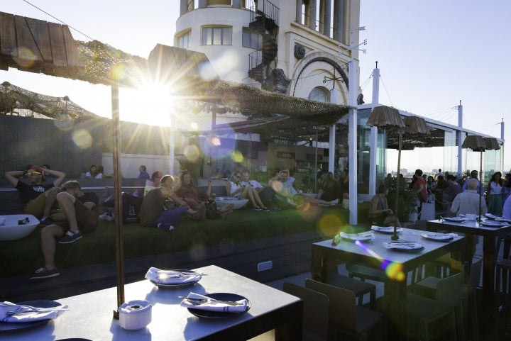 Madrid romantisch, Azotea Circulo de Bellas Artes, Rooftop Bar