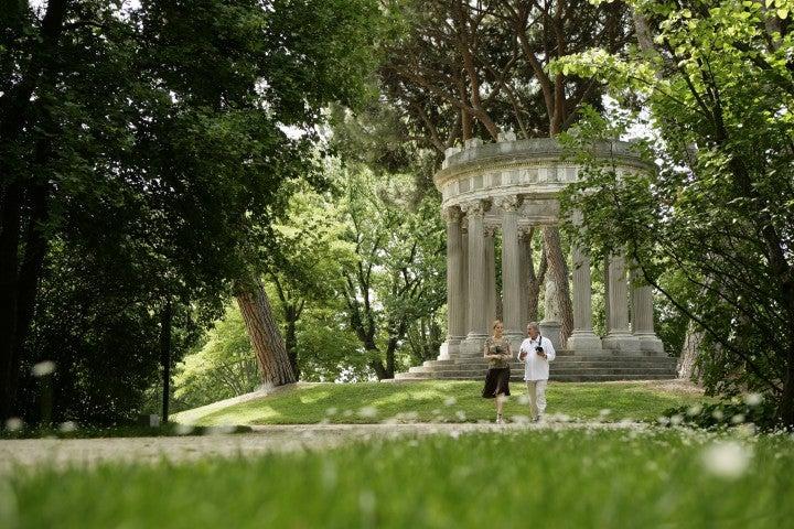 Madrid von seiner romantischen Seite, Capricho Park, Parque El Capricho