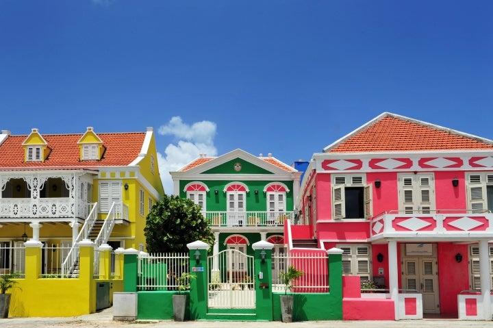 Curaçao, Reisetipps, Urlaub, Willemstad, bunte Häuser, Pietermaai