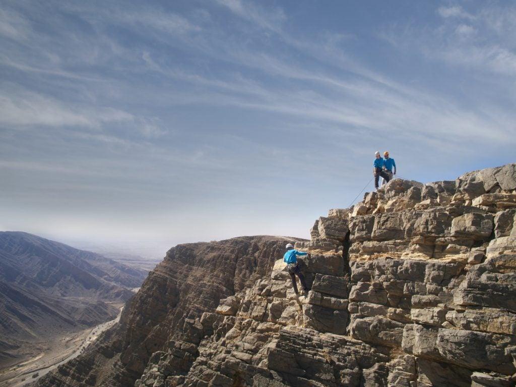ras al khaimah ausflüge via ferrata klettern berge