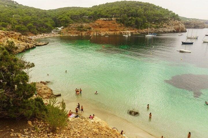 plage cala conta Ibiza - blog Opodo