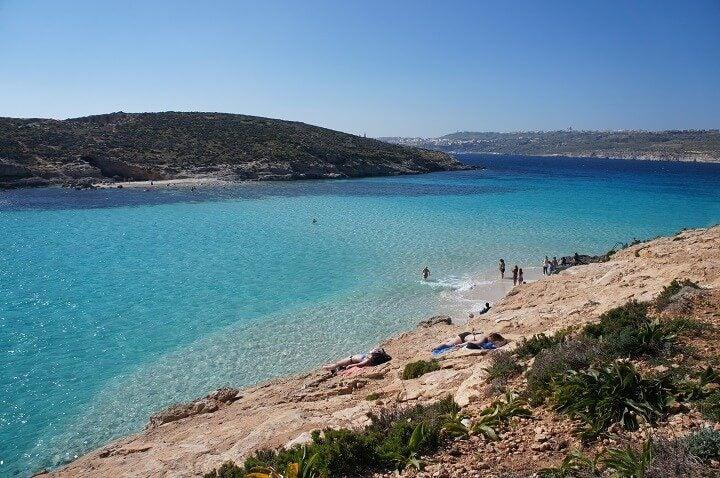 plage Malte - blog Opodo