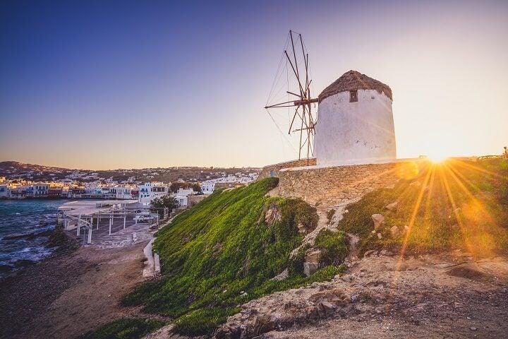 Moulins à vent Mykonos - blog Opodo