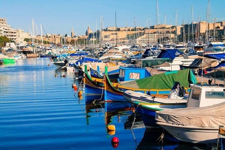 bateaux port Sliema Malte - blog Opodo