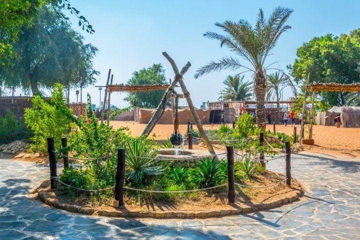 abu dhabi in zwei tagen, heritage village