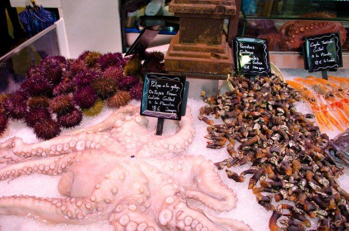 mercado madrid meeresfrüchte