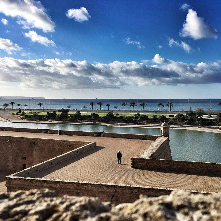 palma de mallorca, parc de la mar