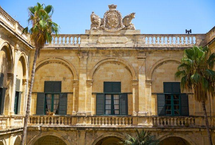 großmeisterpalast, valletta, malta