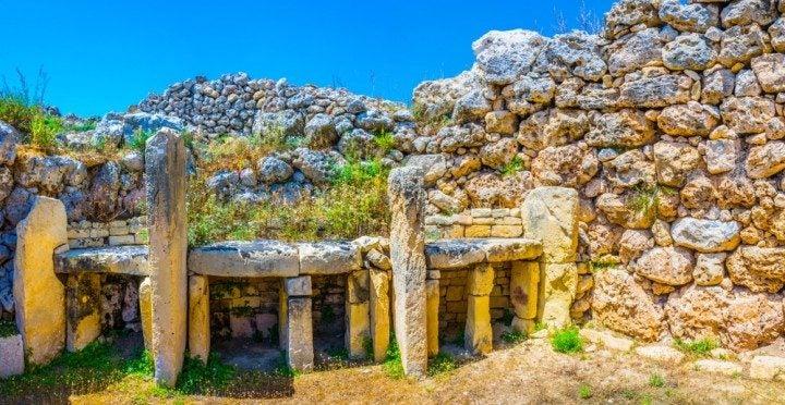 Ħal Saflieni Hypogäum & Ġgantija Tempel, malta