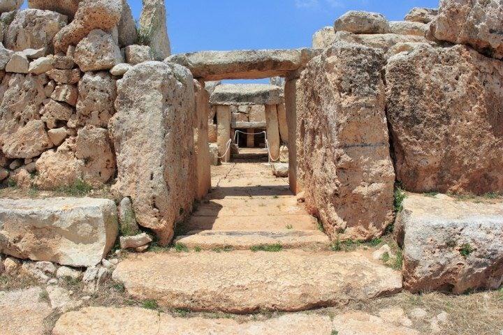 Ħaġar Qim & Mnajdra Tempel, malta