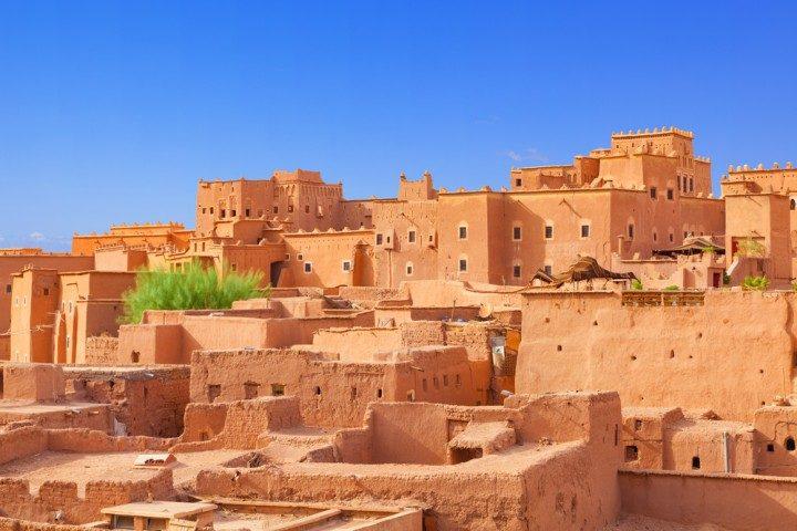 Kasbah, Marokko, Wüste, Sahara