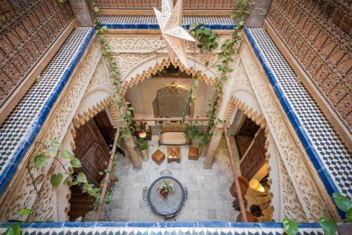 Urlaub in Marokko Riad