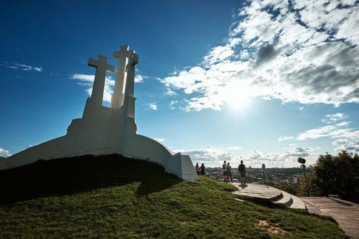 Hügel drei Kreuze Vilnius