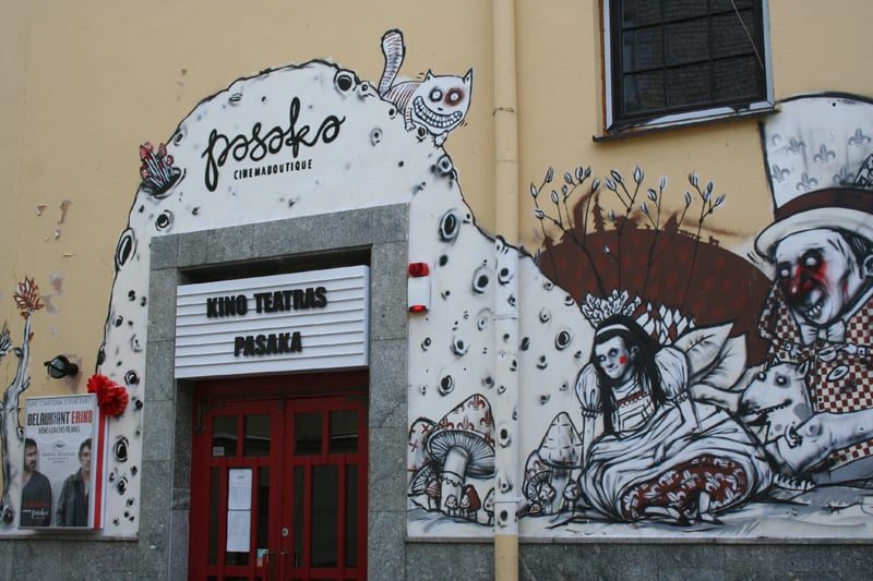 Vilnius, Streetart, Pasaka