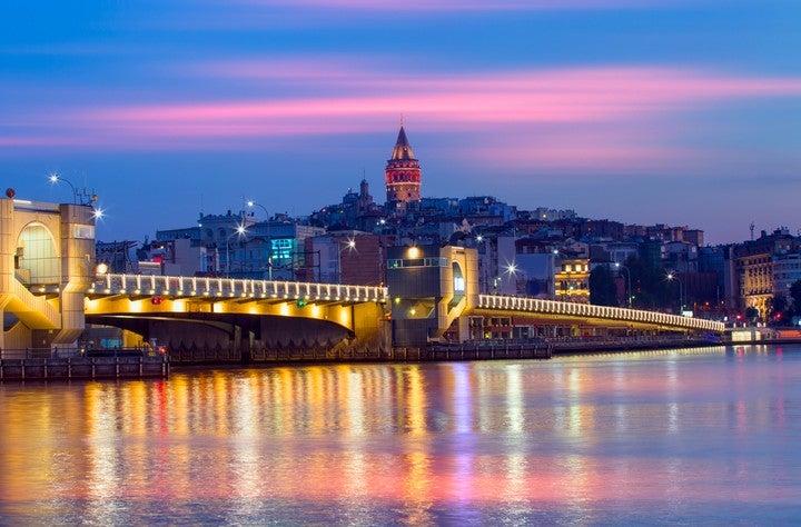 Galata Turm und Brücke