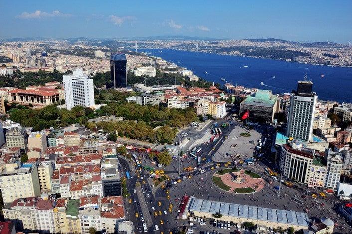 Taksim Platz und Gezi Park in Istanbul