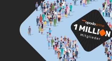 Opodo Prime hat jetzt 1 Million Mitglieder