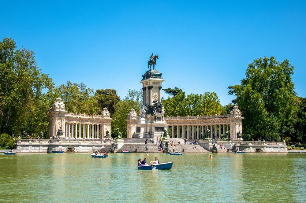 Madrid, Park del Retiro