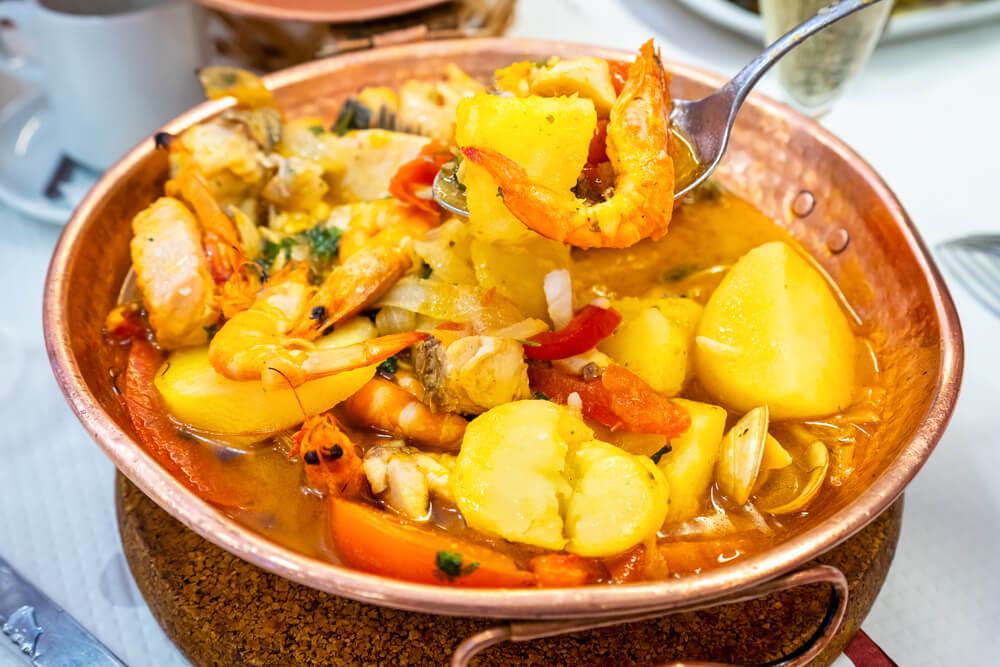 Portugal Urlaub, kulinarische Reise, portugiesische Küche, Cataplana