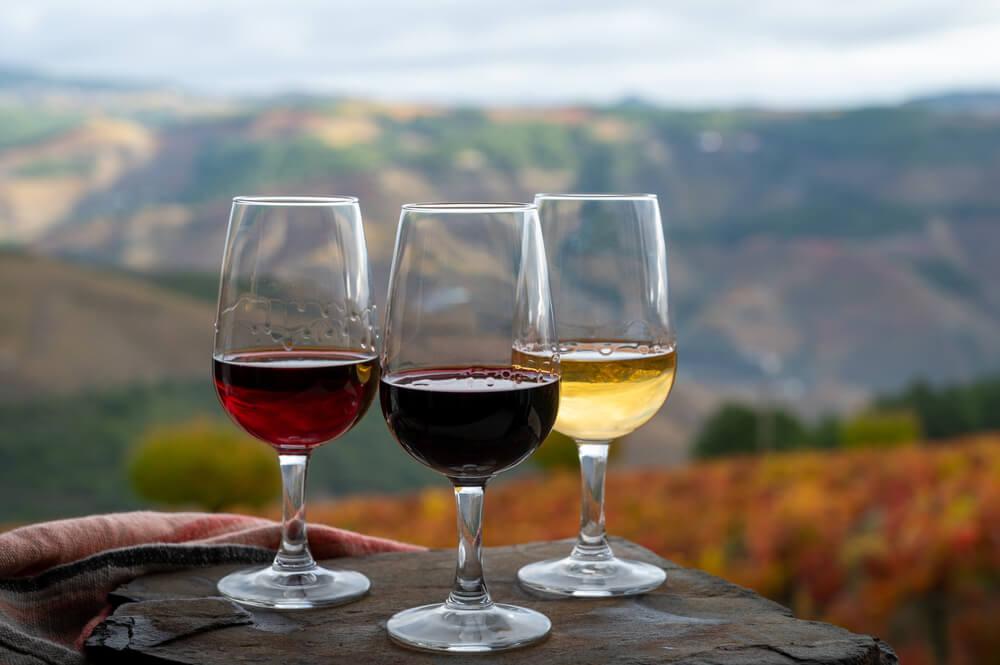 Portugiesischer Wein, Rotwein, Weißwein