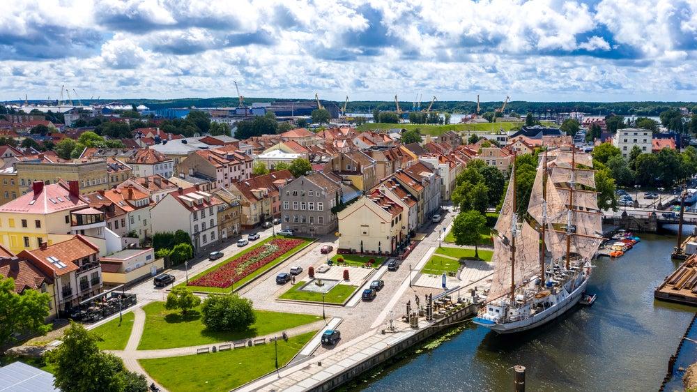 Klaipeda, Segelschiff, Litauen