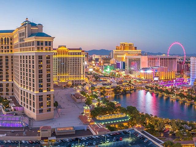 Las Vegas Reise Buchen